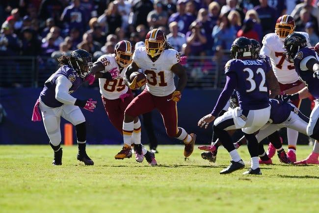 Philadelphia Eagles at Washington Redskins - 10/16/16 NFL Pick, Odds, and Prediction