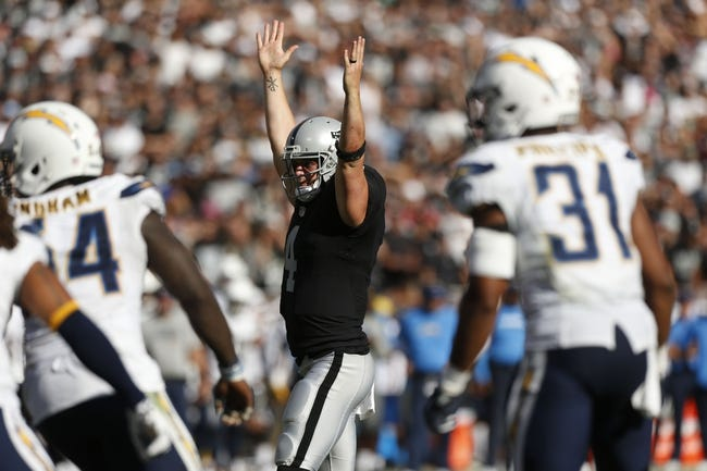 Kansas City Chiefs at Oakland Raiders - 10/16/16 NFL Pick, Odds, and Prediction
