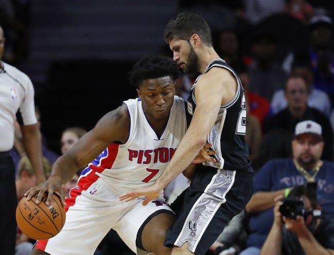 Atlanta Hawks vs. Detroit Pistons - 10/13/16 NBA Preseason Pick, Odds, and Prediction