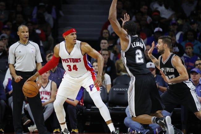 San Antonio Spurs vs. Detroit Pistons - 11/11/16 NBA Pick, Odds, and Prediction