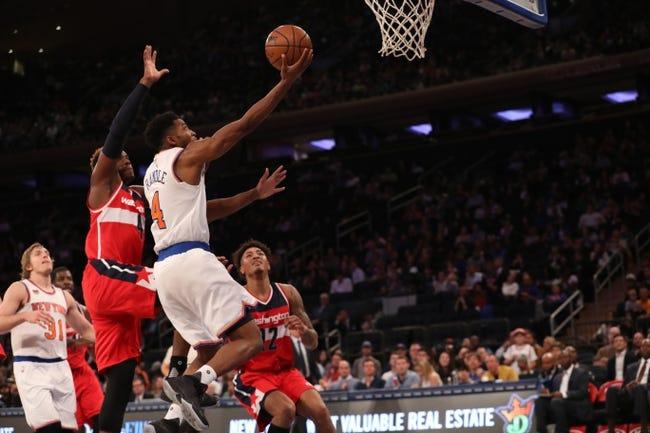 Washington Wizards vs. New York Knicks - 11/17/16 NBA Pick, Odds, and Prediction