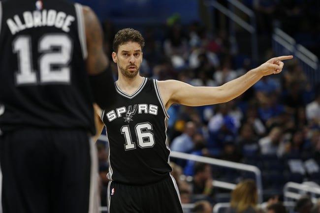 Miami Heat vs. San Antonio Spurs - 10/14/16 NBA Preseason Pick, Odds, and Prediction