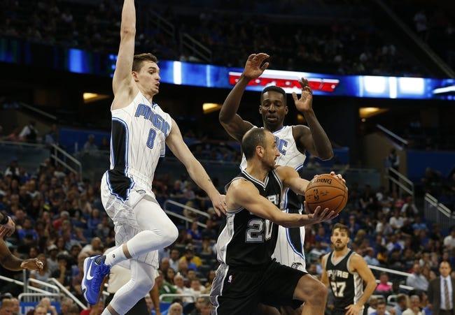 San Antonio Spurs vs. Orlando Magic - 11/29/16 NBA Pick, Odds, and Prediction
