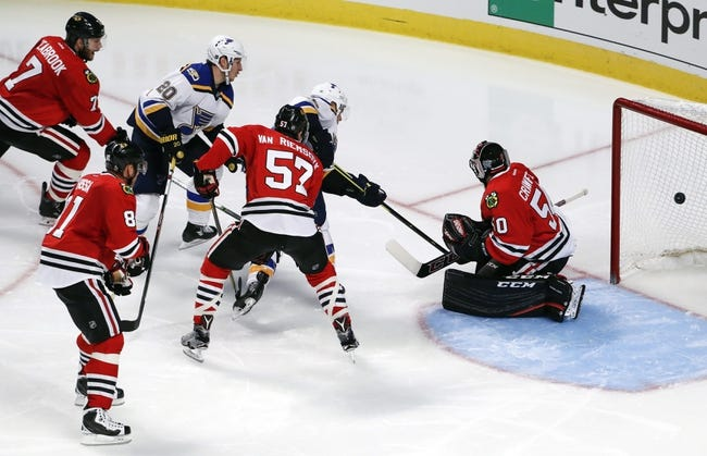 St. Louis Blues vs. Chicago Blackhawks - 11/9/16 NHL Pick, Odds, and Prediction