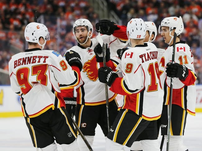 Calgary Flames vs. Edmonton Oilers - 10/14/16 NHL Pick, Odds, and Prediction