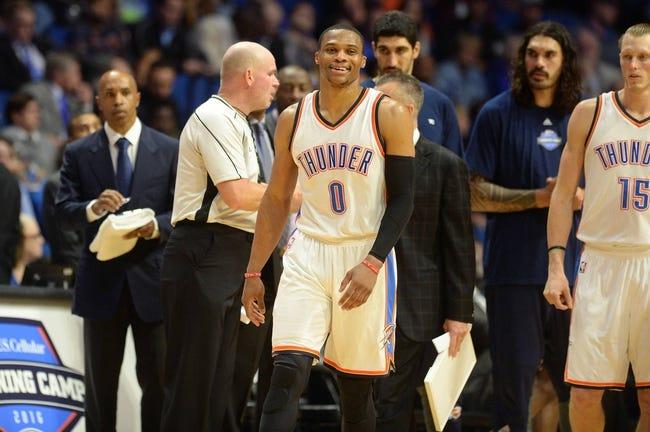 Minnesota Timberwolves vs. Oklahoma City Thunder - 10/16/16 NBA Preseason Pick, Odds, and Prediction