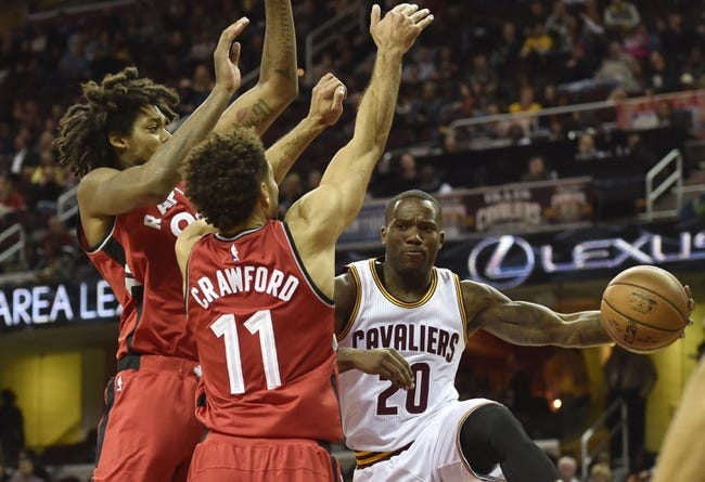 Toronto Raptors vs. Cleveland Cavaliers - 10/28/16 NBA Pick, Odds, and Prediction