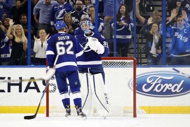Detroit Red Wings vs. Tampa Bay Lightning - 11/15/16 NHL Pick, Odds, and Prediction