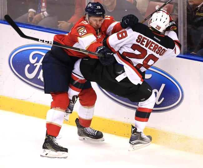 Florida Panthers vs. New Jersey Devils - 11/3/16 NHL Pick, Odds, and Prediction
