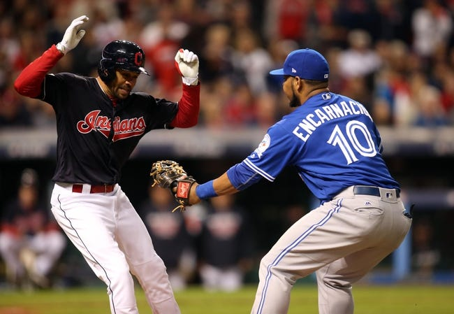 Cleveland Indians vs. Toronto Blue Jays ALCS Game 2 - 10/15/16 MLB Pick, Odds, and Prediction