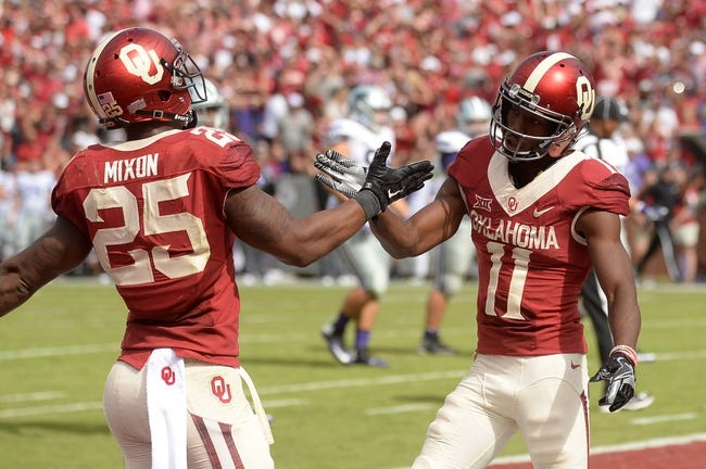 Oklahoma Sooners at Texas Tech Red Raiders - 10/22/16 College Football Pick, Odds, and Prediction