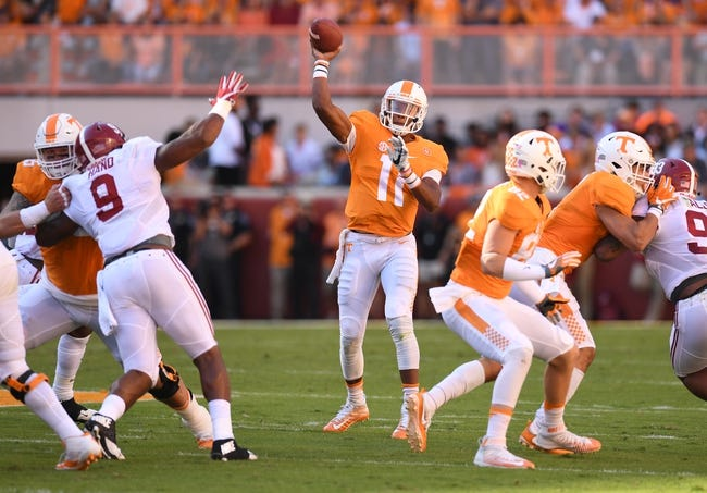 Tennessee vs. Kentucky - 11/12/16 College Football Pick, Odds, and Prediction