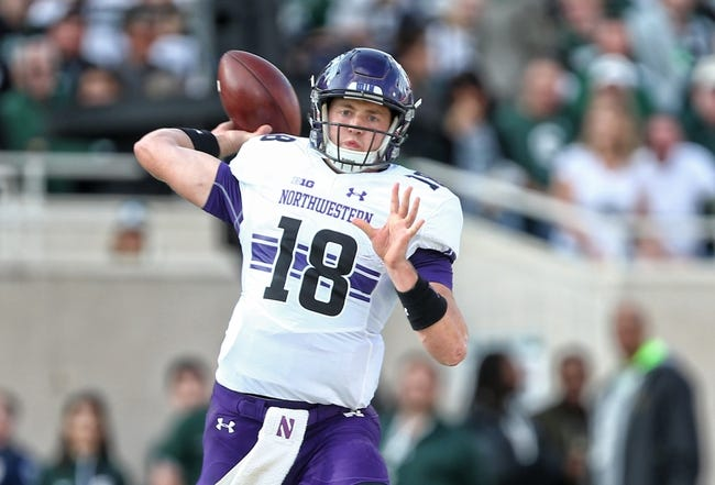 Northwestern vs. Indiana - 10/22/16 College Football Pick, Odds, and Prediction