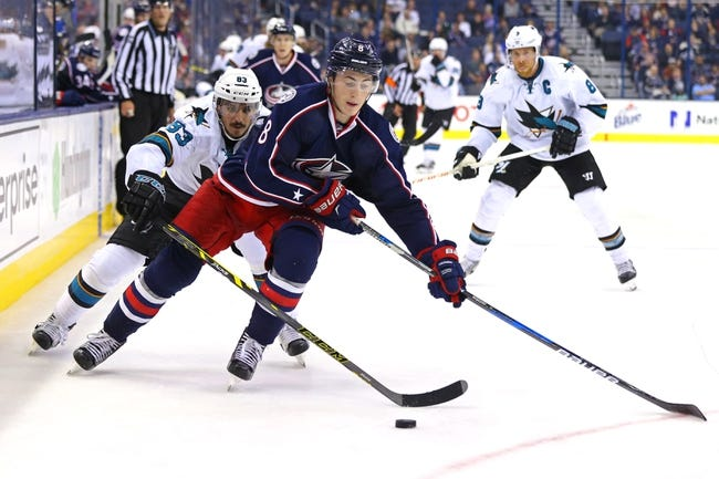 San Jose Sharks vs. Columbus Blue Jackets - 10/27/16 NHL Pick, Odds, and Prediction
