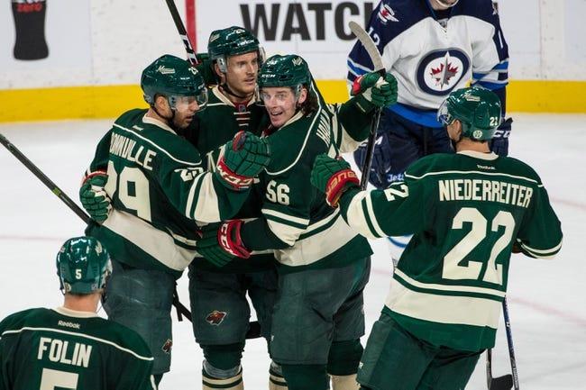 Minnesota Wild vs. Winnipeg Jets - 11/23/16 NHL Pick, Odds, and Prediction