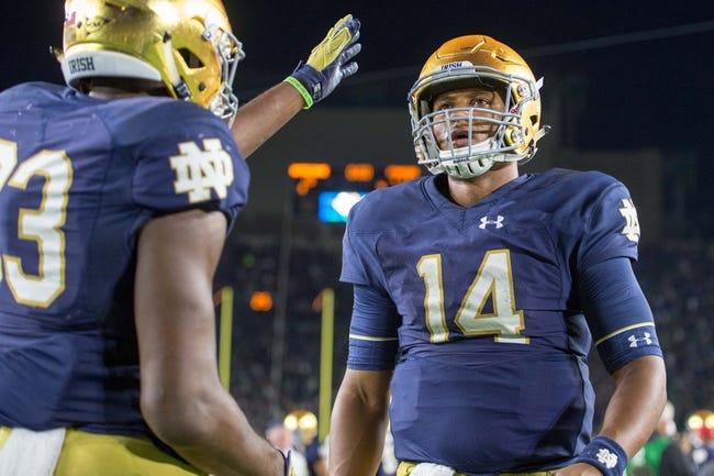 Notre Dame Fighting Irish vs. Miami-FL Hurricanes - 10/29/16 College Football Pick, Odds, and Prediction