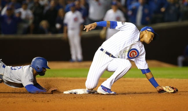 Chicago Cubs vs. Los Angeles Dodgers - 10/16/16 MLB NLCS Game Two Pick, Odds, and Prediction