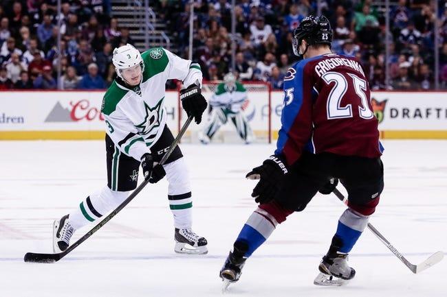 Dallas Stars vs. Colorado Avalanche - 11/17/16 NHL Pick, Odds, and Prediction
