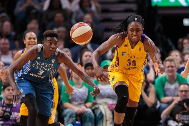 Seattle Storm vs. Indiana Fever - 6/22/18 WNBA Pick, Odds, and Prediction