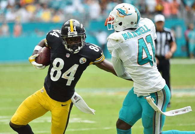 Pittsburgh Steelers vs. Miami Dolphins - 1/8/17 AFC Wild Card Playoffs NFL Pick, Odds, and Prediction