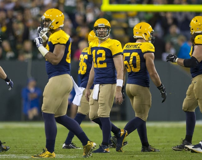 Green Bay Packers vs. Chicago Bears - 10/20/16 NFL Pick, Odds, and Prediction