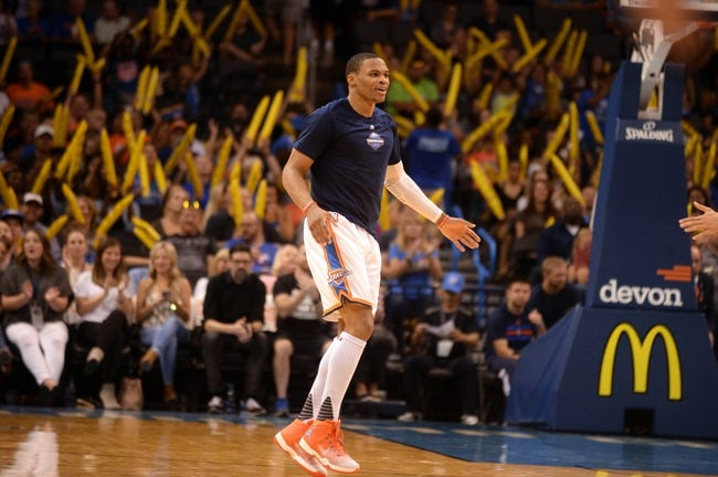 Denver Nuggets vs. Oklahoma City Thunder - 10/18/16 NBA Preseason Pick, Odds, and Prediction