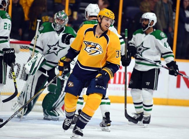 Nashville Predators vs. Dallas Stars - 11/23/16 NHL Pick, Odds, and Prediction