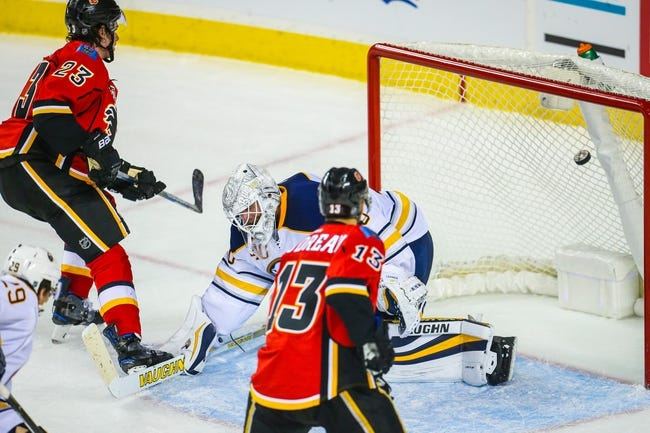 Buffalo Sabres vs. Calgary Flames - 11/21/16 NHL Pick, Odds, and Prediction