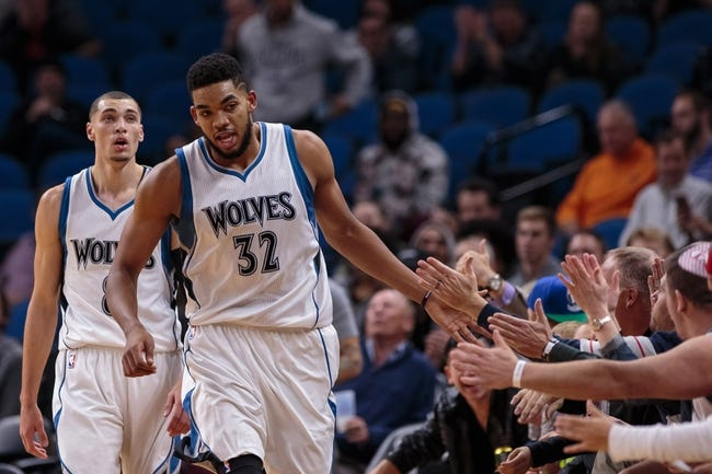 Charlotte Hornets vs. Minnesota Timberwolves - 10/21/16 NBA Preseason Pick, Odds, and Prediction