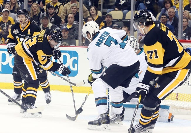 San Jose Sharks vs. Pittsburgh Penguins - 11/5/16 NHL Pick, Odds, and Prediction
