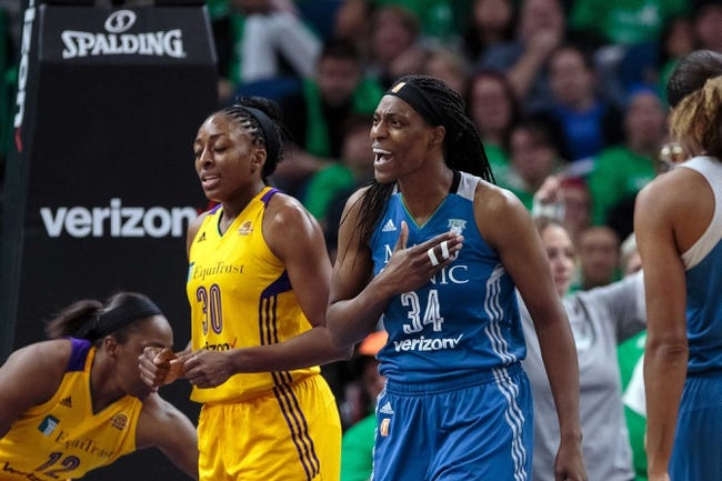 Washington Mystics vs. Minnesota Lynx - 9/14/17 WNBA Pick, Odds, and Prediction