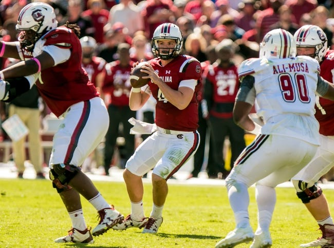 South Carolina vs. Tennessee - 10/29/16 College Football Pick, Odds, and Prediction