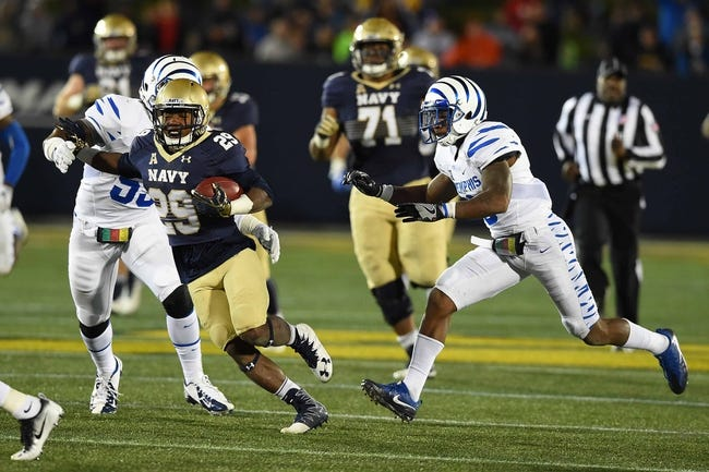 Memphis vs. Navy - 10/14/17 College Football Pick, Odds, and Prediction