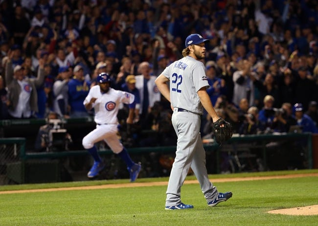 Chicago Cubs at Los Angeles Dodgers NLCS Game 1 - 10/14/17 MLB Pick, Odds, and Prediction
