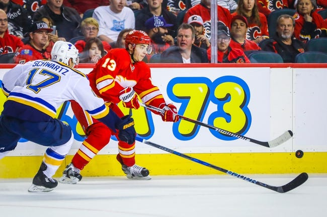 St. Louis Blues vs. Calgary Flames - 10/25/16 NHL Pick, Odds, and Prediction