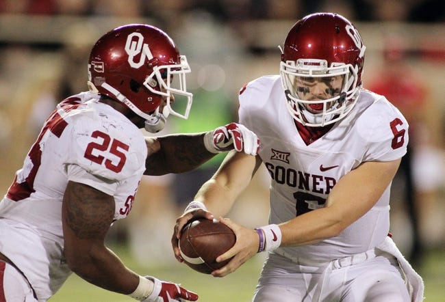 Oklahoma vs. Kansas - 10/29/16 College Football Pick, Odds, and Prediction