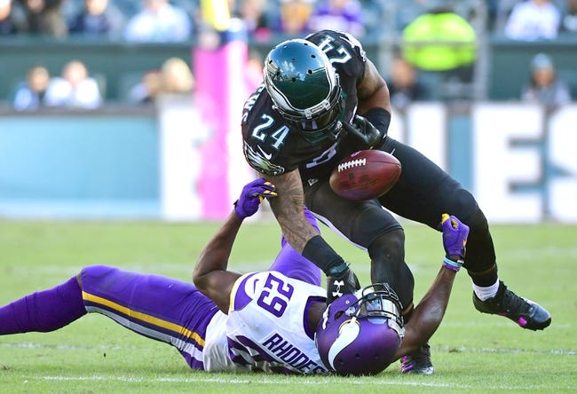 Minnesota Vikings at Philadelphia Eagles - 1/21/18 NFL Pick, Odds, and Prediction