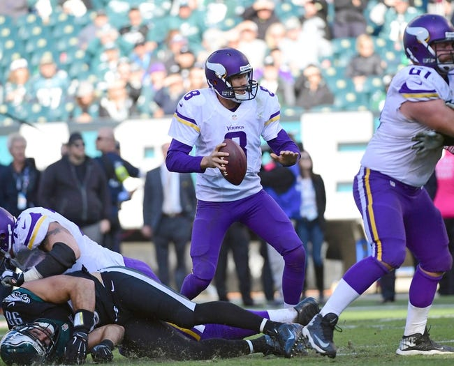 Minnesota Vikings at Chicago Bears - 10/31/16 NFL Pick, Odds, and Prediction