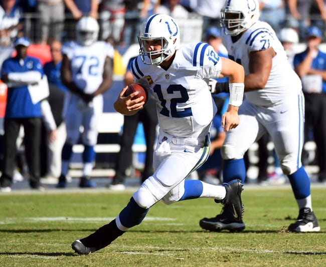 Indianapolis Colts vs. Kansas City Chiefs - 10/30/16 NFL Pick, Odds, and Prediction