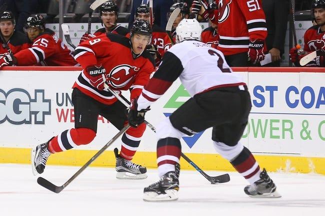 NHL | Arizona Coyotes (0-9-1) at New Jersey Devils (6-2-0)