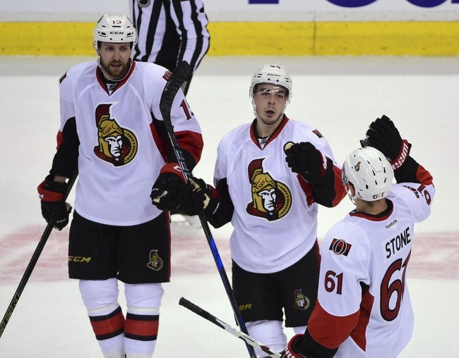 Ottawa Senators vs. Vancouver Canucks - 11/3/16 NHL Pick, Odds, and Prediction