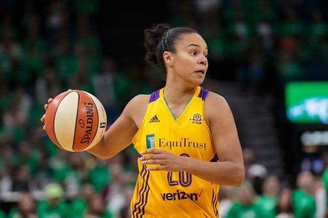 Washington Mystics vs. Minnesota Lynx - 6/7/18 WNBA Pick, Odds, and Prediction