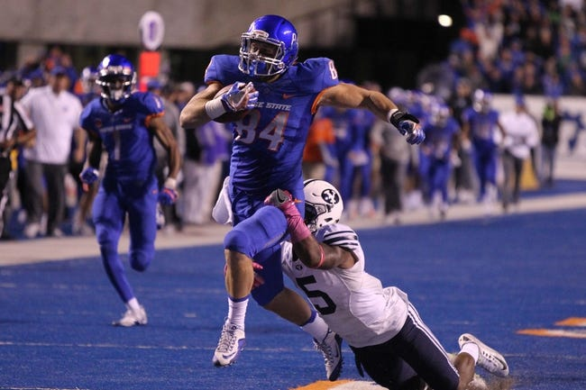 BYU vs. Boise State - 10/6/17 College Football Pick, Odds, and Prediction