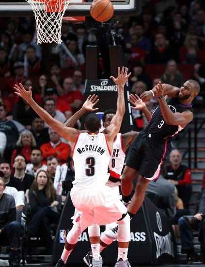Los Angeles Clippers vs. Portland Trail Blazers - 11/9/16 NBA Pick, Odds, and Prediction