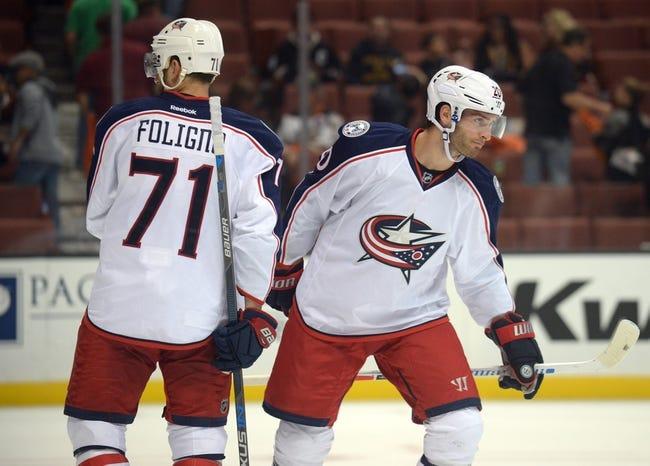 Columbus Blue Jackets vs. Anaheim Ducks - 12/1/17 NHL Pick, Odds, and Prediction