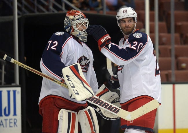Columbus Blue Jackets vs. Anaheim Ducks - 11/9/16 NHL Pick, Odds, and Prediction