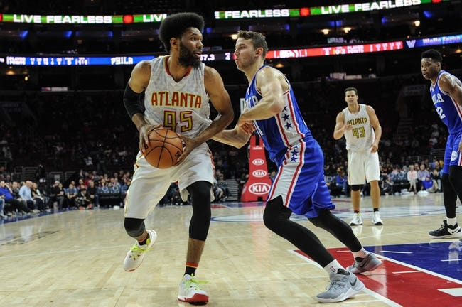 Atlanta Hawks vs. Philadelphia 76ers - 11/12/16 NBA Pick, Odds, and Prediction