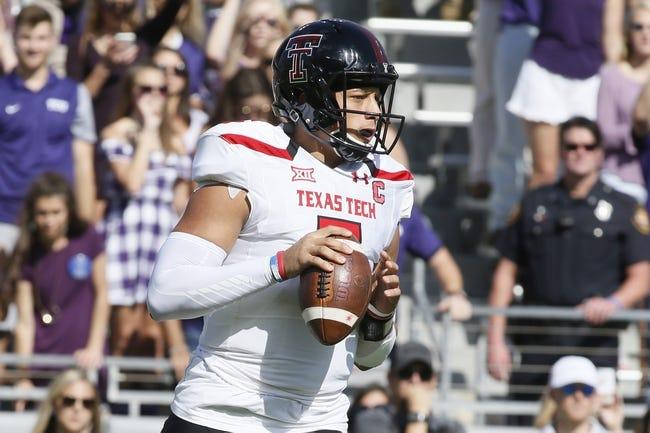 Texas Tech vs. Texas - 11/5/16 College Football Pick, Odds, and Prediction
