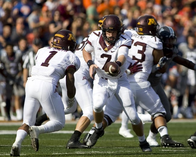Minnesota vs. Purdue - 11/5/16 College Football Pick, Odds, and Prediction