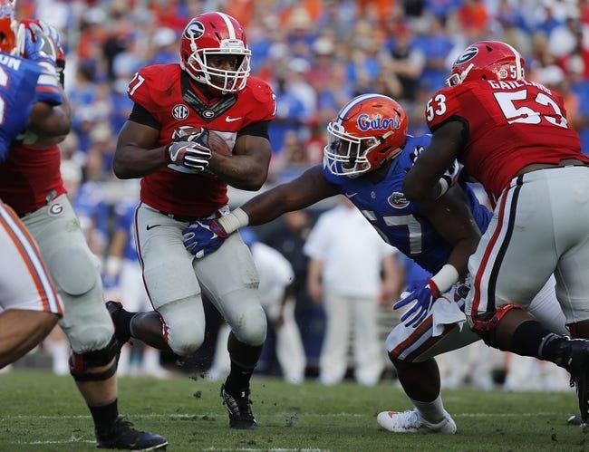 Georgia  vs. Auburn - 11/12/16 College Football Pick, Odds, and Prediction